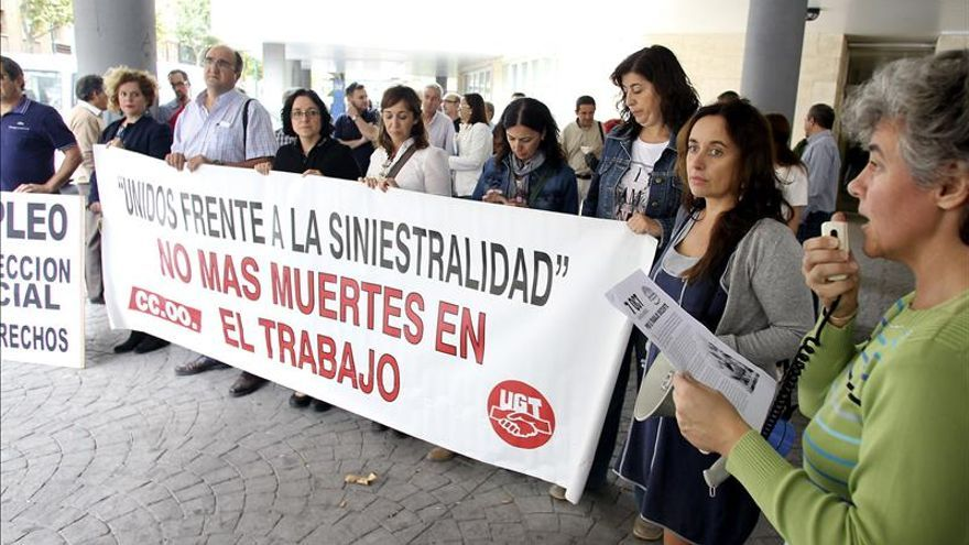 UGT pide medidas para frenar el aumento de la siniestralidad laboral