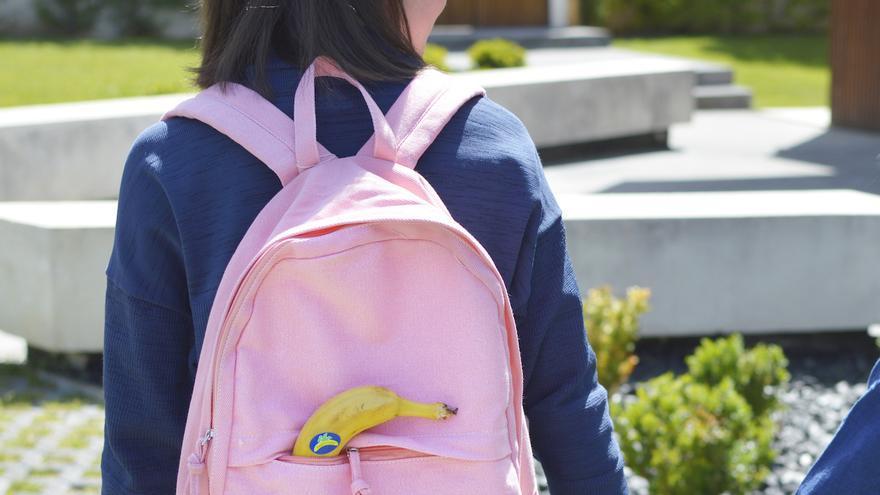 Plátano de Canarias llegará a más de 250.000 estudiantes de toda España