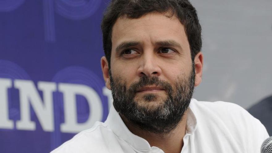 Rahul Gandhi no será candidato a primer ministro por el Partido del Congreso indio