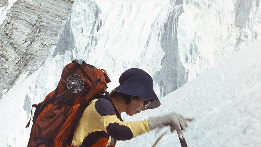 Junko Tabei, primera mujer en alcanzar la cima del Everest en 1975