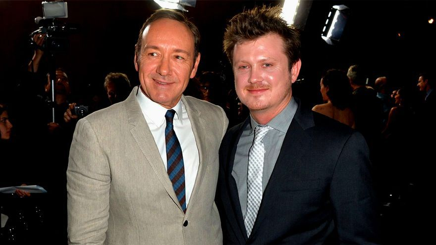 Kevin Spacey y Beau Willimon en una imagen de archivo