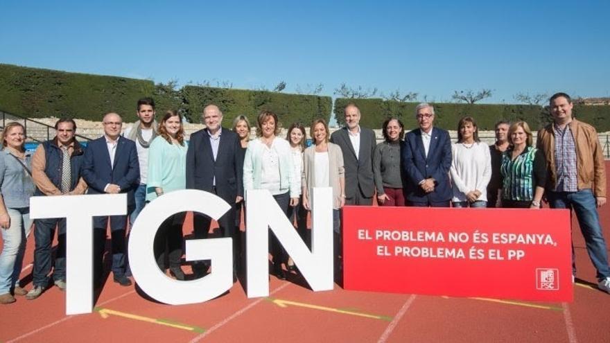 """Chacón (PSC) afirma que Mas y Rajoy han dejado """"sin rumbo"""" a Cataluña"""