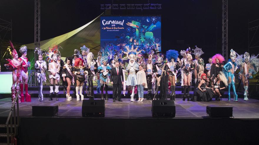 Participantes en la selección de los aspirantes a la Gala Drag.