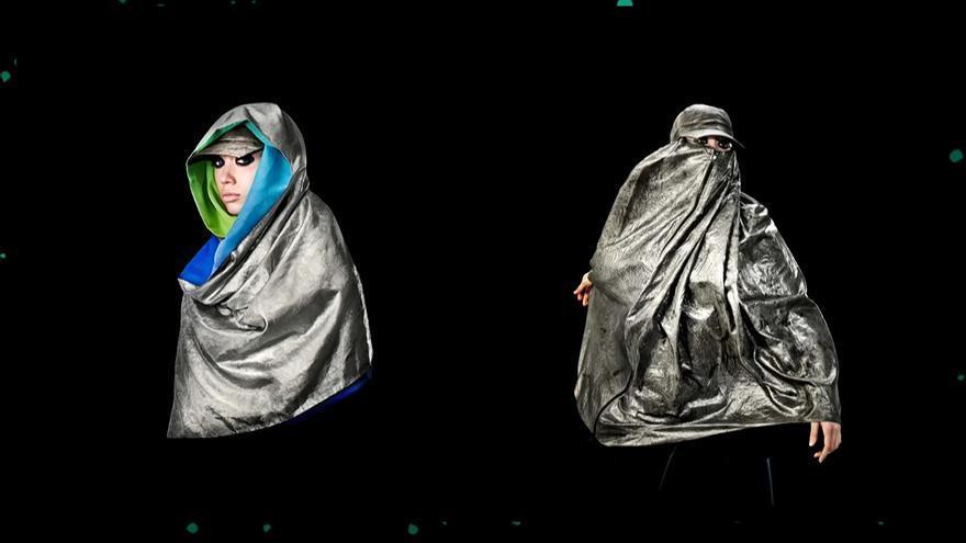 Hijab y burka Anti-dron