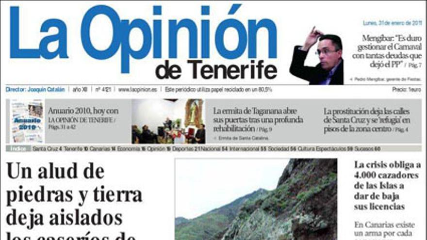De las portadas del día (31/01/11) #11