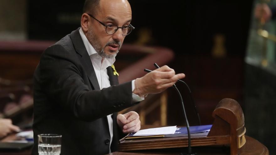 """Campuzano (PDeCAT) respeta la decisión de Rovira: """"Tiene la percepción de que no tendrá un juicio justo en España"""""""