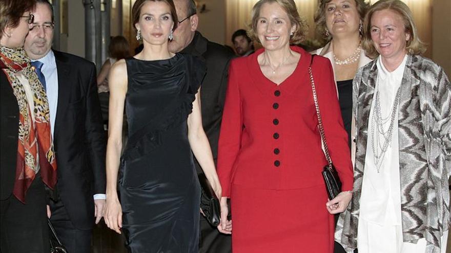 Doña Letizia preside el concierto conmemorativo de la Fundación Luca de Tena