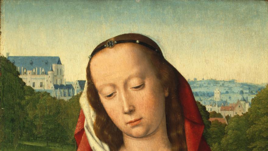 Gerard David (1460 -1523) 'Virgen con el Niño'
