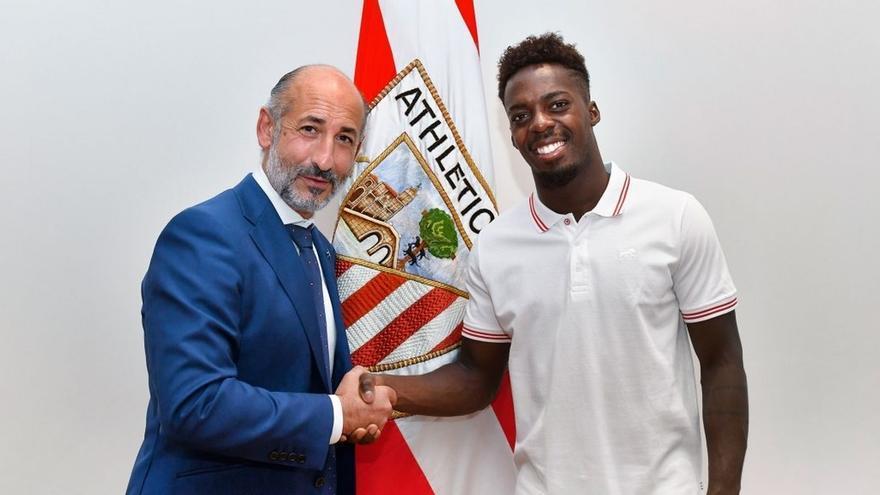 Williams prolonga su contrato con el Athletic Club de Bilbao hasta 2028 con una cláusula de rescisión de 135 millones