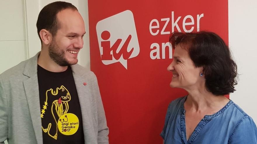 Los dos parlamentarios de Ezker Anitza-IU pedirán la devolución de los Presupuestos 2020 al Gobierno Vasco