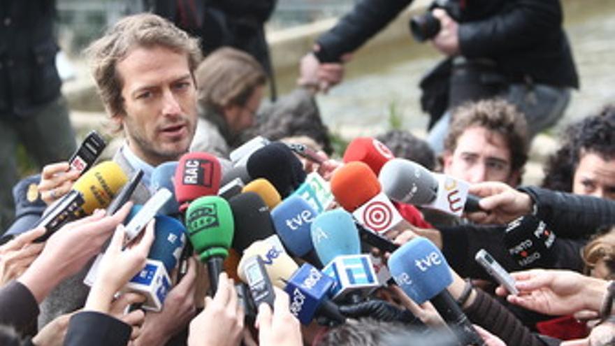 César Cabo, en la Fiscalía de Madrid
