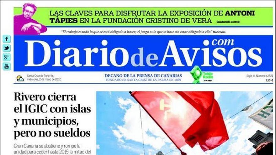 De las portadas del día (02/05/2012) #3