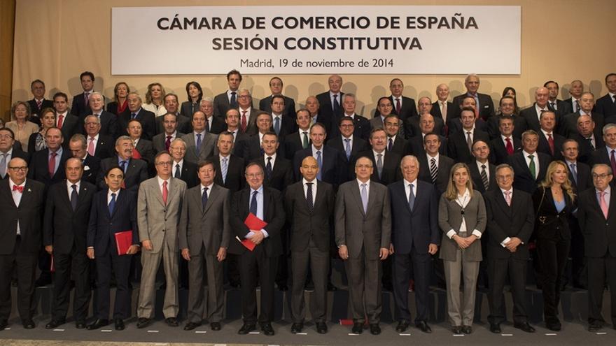 Pleno de la Cámara de Comercio de España (Foto: Cámara de Comercio de España).