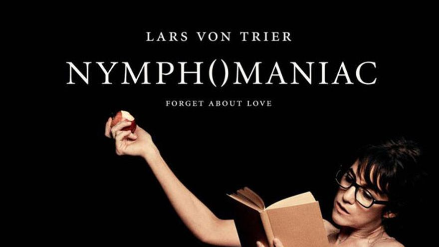 Póster de la película Nymphomaniac, de Lars Von Trier.