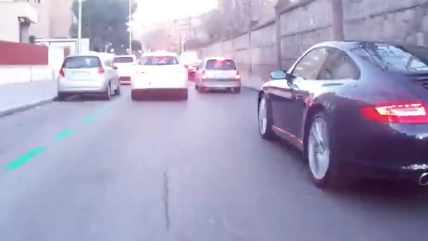 Un Porsche en Madrid