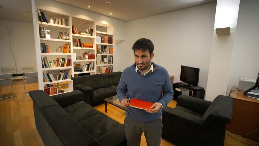 Vicent Marzà, en su despacho de la Conselleria de Educación.