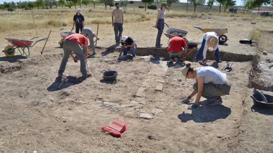 Excavación en Segóbriga (Cuenca)