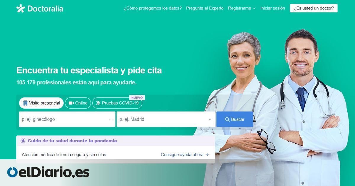 """El 'Booking de los médicos' explota con la pandemia: """"La COVID ha mostrado que la telemedicina es una opción válida"""""""