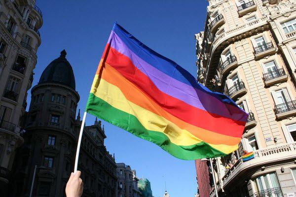 Bandera del Orgullo LGTB