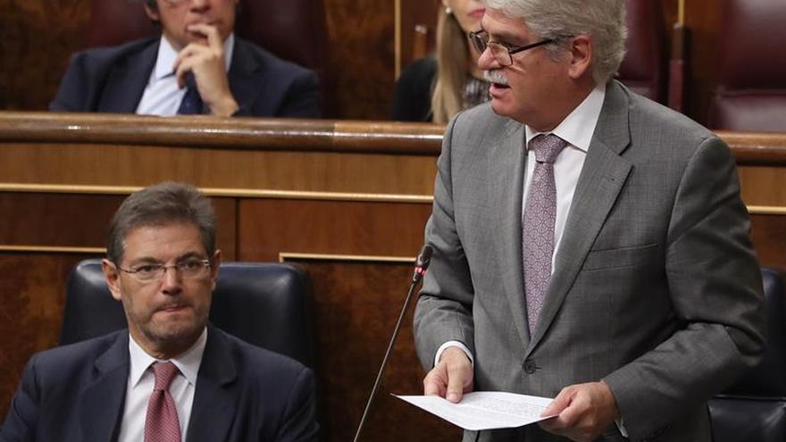Dastis cree que Puigdemont no declaró la independencia de Cataluña