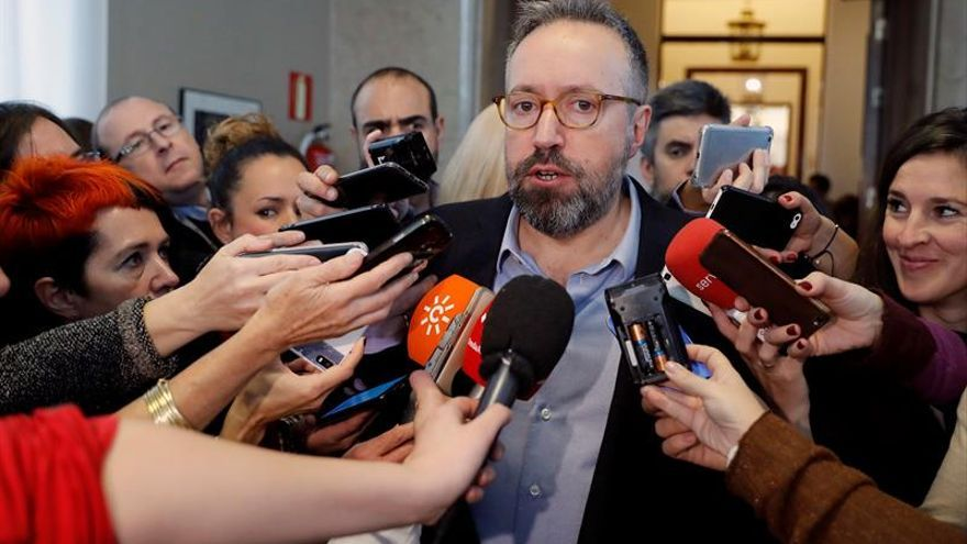 """C's critica la """"frivolidad"""" de Iceta por hablar de indultos a soberanistas"""