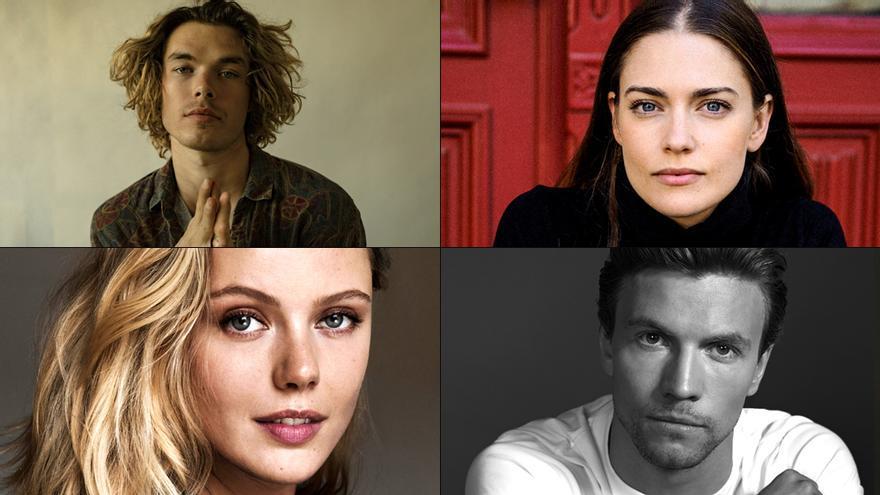 Cuatro de los protagonistas de 'Vikingos: Valhalla'