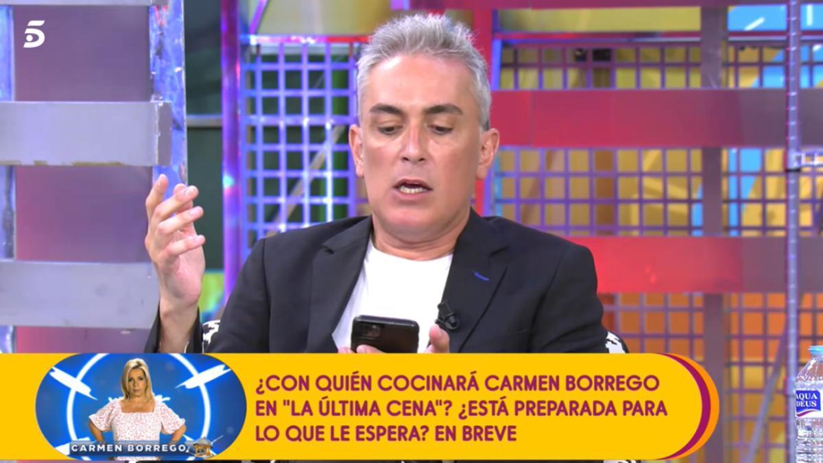 Kiko Hernández, en 'Sávame'