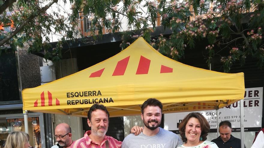 """Rufián asegura que la pregunta del referéndum está pactada y """"será simple"""""""