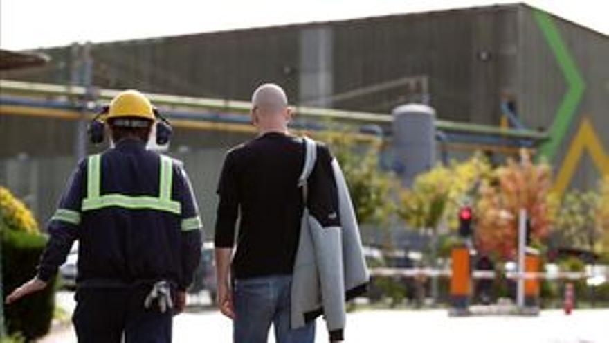 La fábrica de Reinosa cuenta con más de 750 trabajadores.