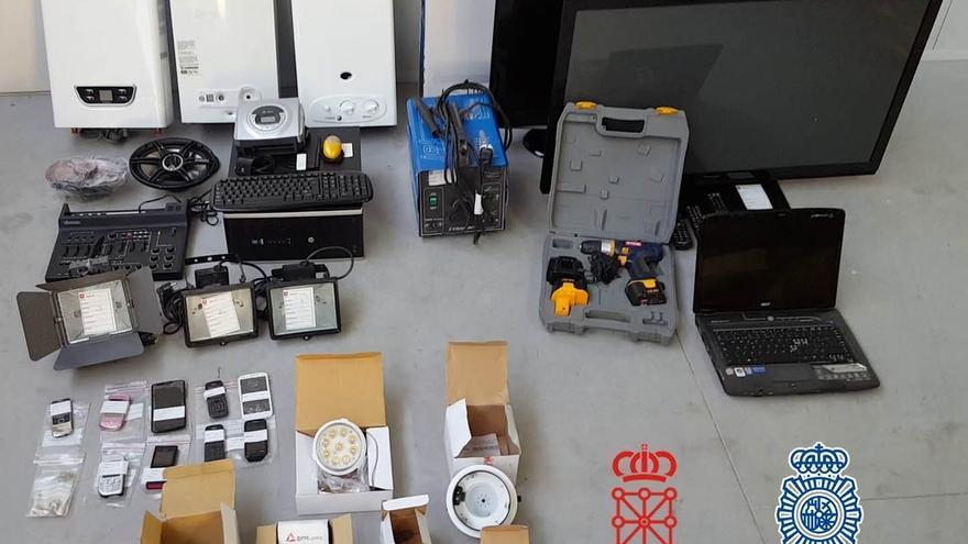 Desarticulada una organización criminal rumana dedicada a cometer robos con fuerza en empresas navarras
