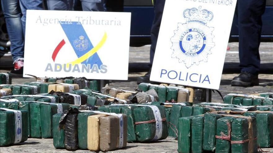 Interceptado un yate que transportaba 2.000 kilos de hachís en Cartagena