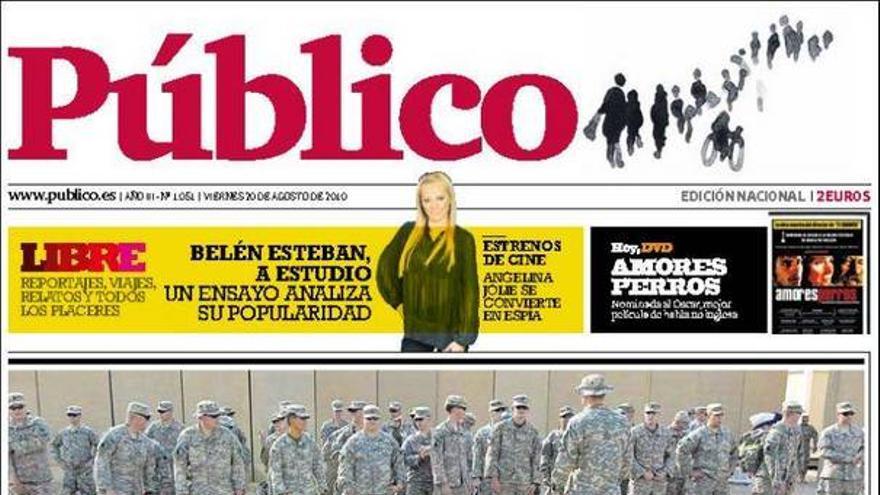 De las portadas del día (20/08/2010) #14