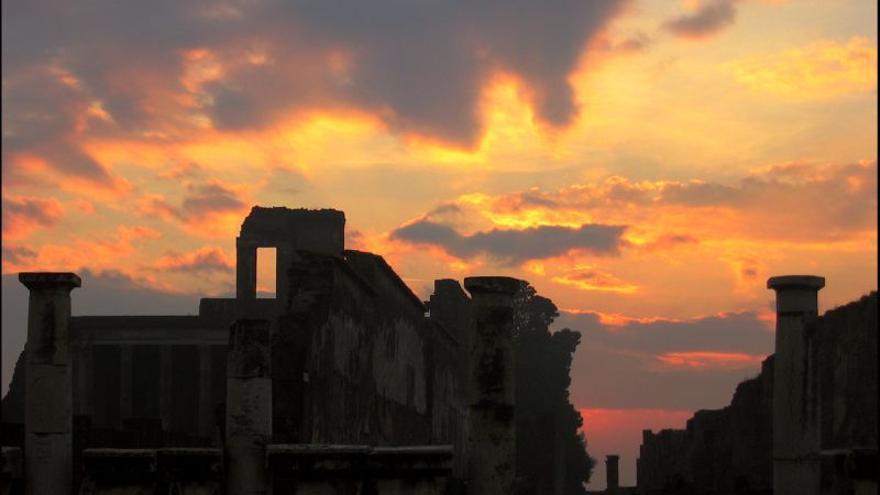El yacimiento de Pompeya