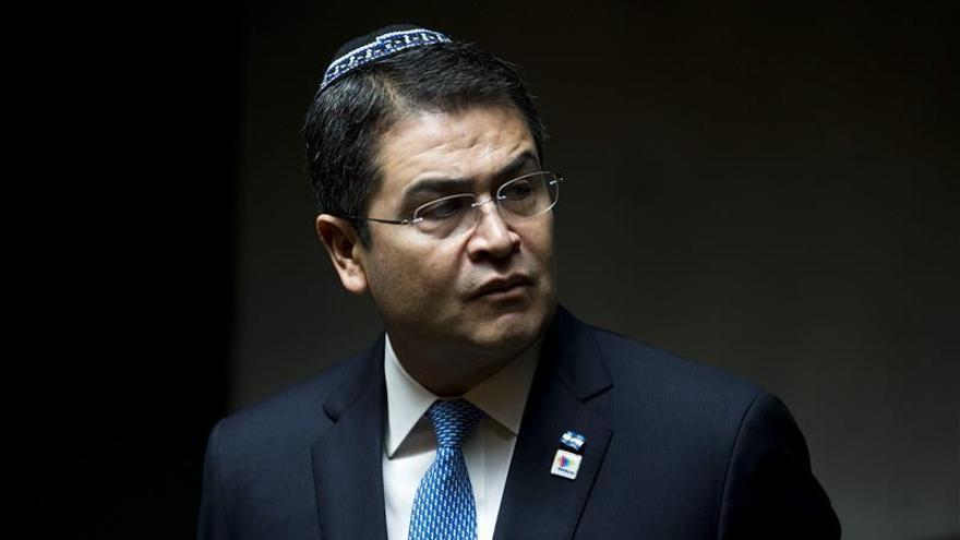 La OLP acusa al presidente Hernández de complicidad con la ocupación israelí