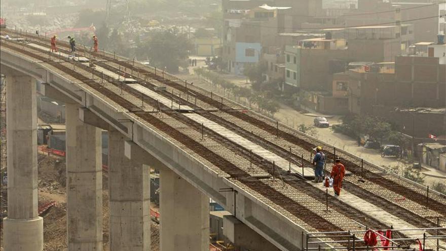 Perú duplicará el número de trenes de la Línea 1 del Metro de Lima