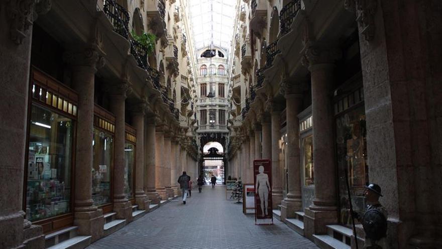 Pasaje Lodares, en Albacete