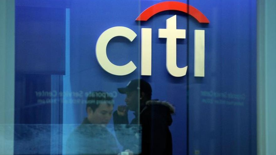 A file picture dated 14 December 2009 shows people walking through a Citibank branch in Citigroup headquarters in New York, USA (reissued 14 January 2020). Citigroup is to release their 4th quarter 2019 results on 14 January 2020.