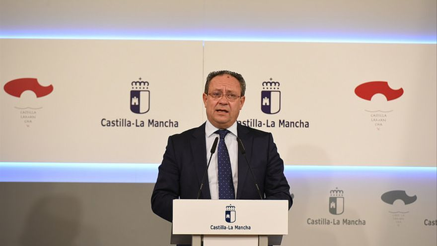 El consejero de Hacienda y Administraciones Públicas, Juan Alfonso Ruiz Molina / JCCM