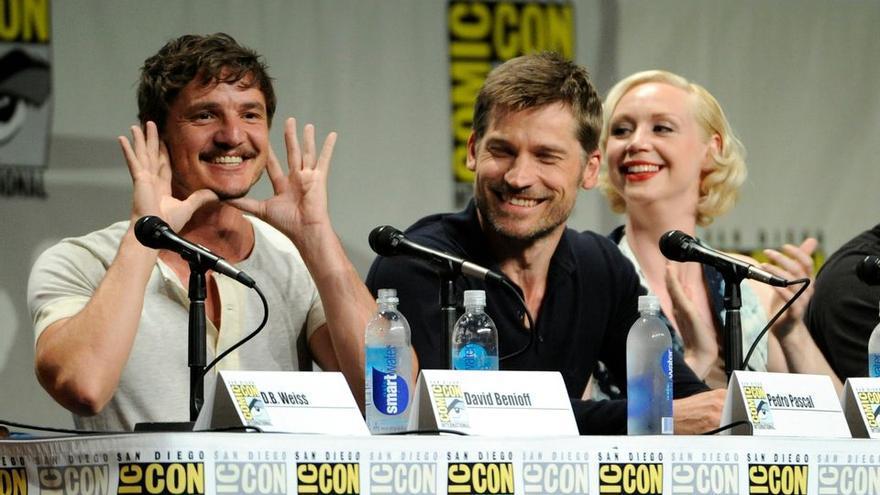 El reparto de 'Juego de Tronos' en la Comic Con