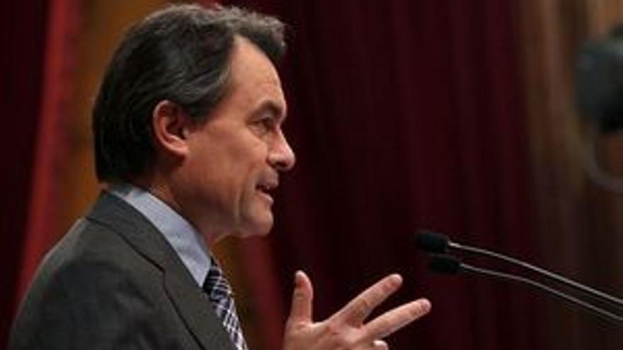 Artur Mas, presidente electo de la Generalitat.