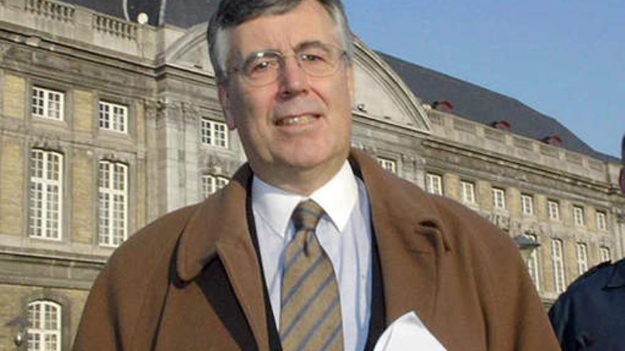 El procurador General de la Corte de Justicia de la Union Europea (CJUE) Melchior Wathelet