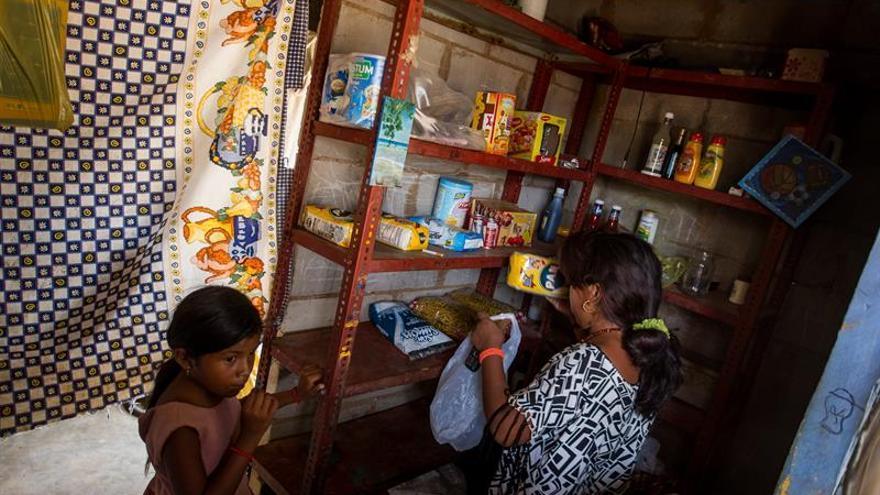 El desabastecimiento agrava los casos de desnutrición infantil en Venezuela