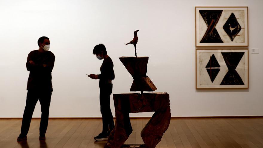 Tres décadas de Mendiburu en El Museo de Bellas Artesde Bilbao