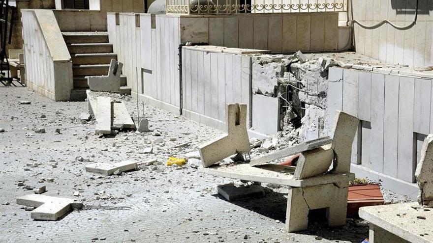 Varias víctimas por una explosión cerca de una escuela iraní en Damasco