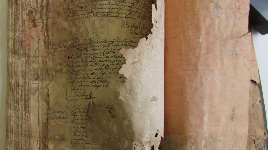IV Libro de Bautismos de la parroquia de Santa Domingo de Garafía (1729-1762).