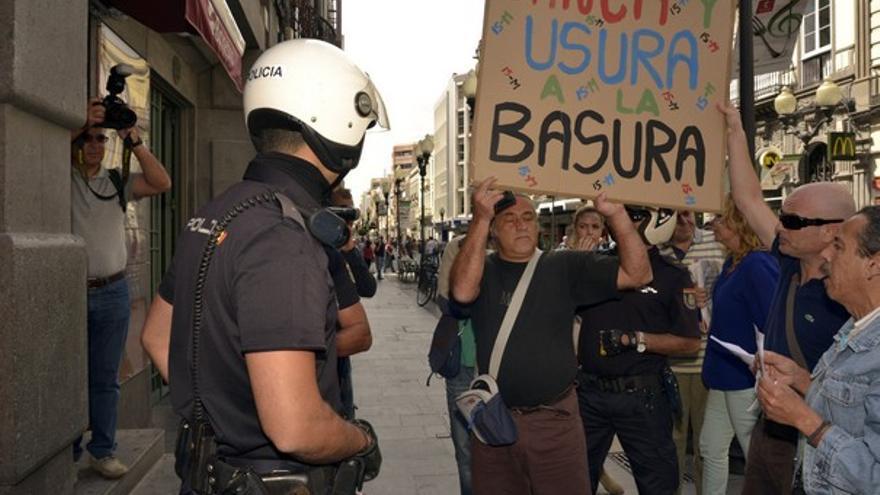 De la protesta contra el desahucio #6