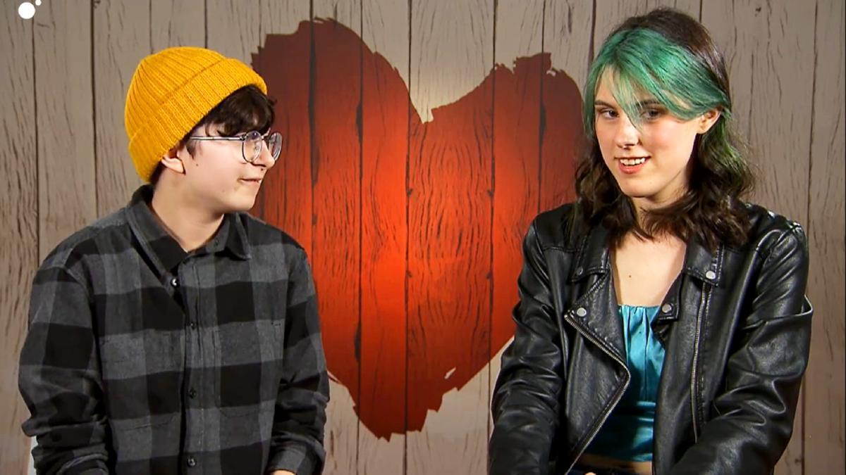 Mónica y Sofía, en 'First Dates'