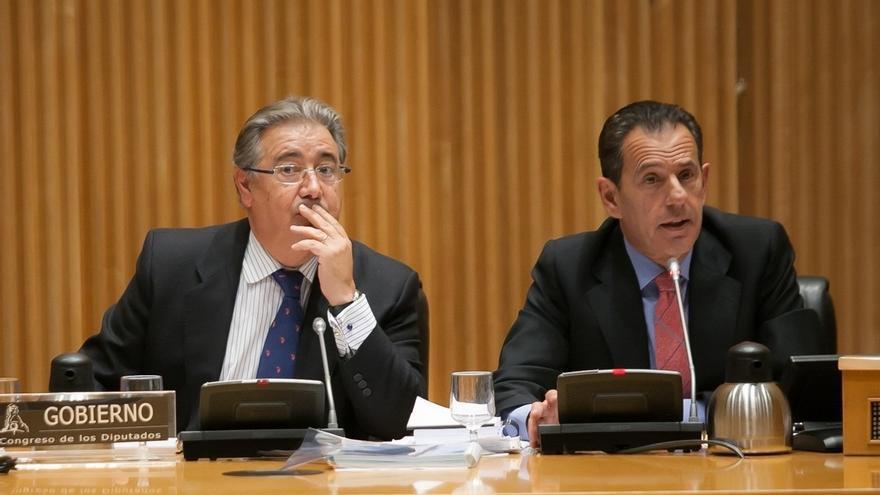 La Comisión de Interior del Congreso guarda un minuto de silencio en memoria del exministro José Antonio Alonso
