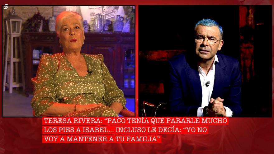 Teresa Rivera y Jorge Javier Vázquez en 'Cantora: La herencia envenenada 2'