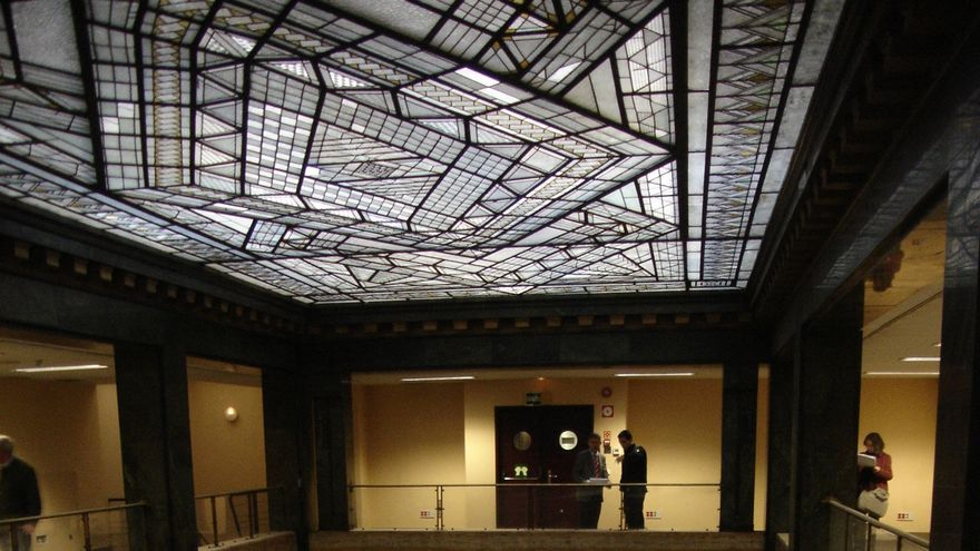 Interior de uno de los edificios del proyecto Canalejas